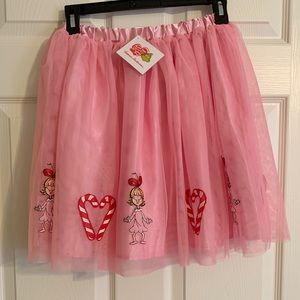 NWT Hanna Andersson Grinch, Cindy Lou Who Skirt